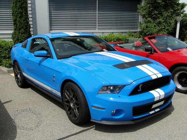 shelby gt500 2010 2012 a