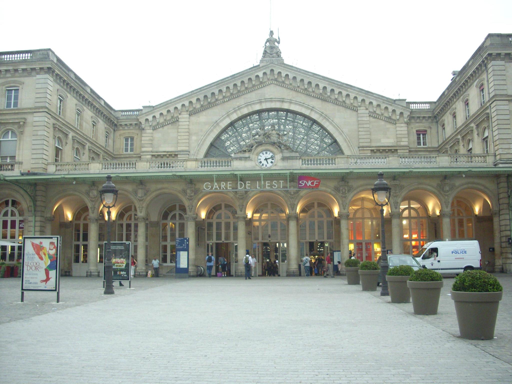 Paris Gare de l'Est (Paris - 75)