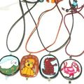 pendentifs canes animaux