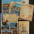 Échange de cartes postales régions de mars