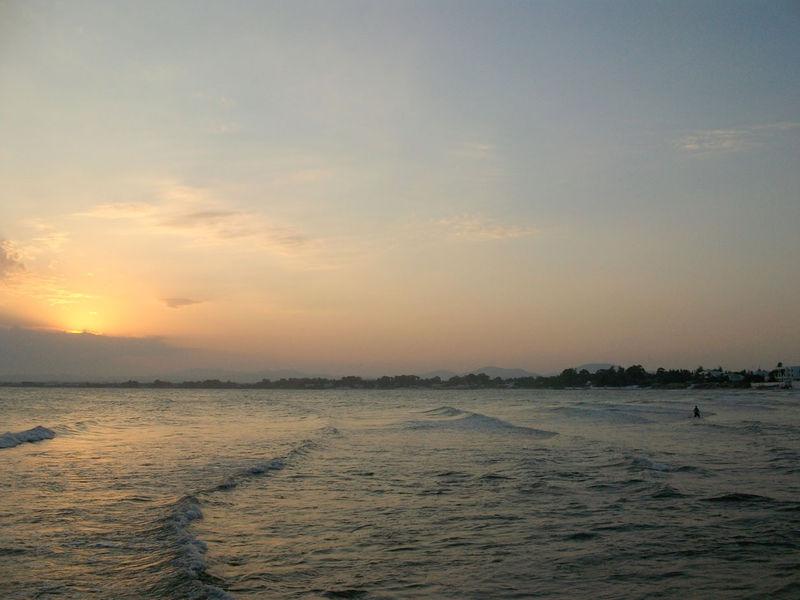 Soleil couchant du lundi 24 août 2009