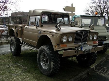 kaiser jeep m715, 1967 1969, salon champenois reims 2013 5