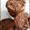 Biscuits au cacao et à la fleur de sel