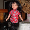 robe chinoise pour Liu