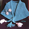 Chèche au tricotin