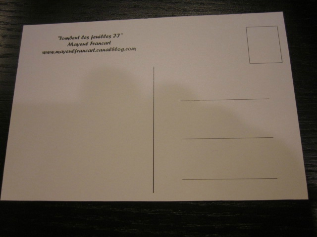 Carte postale - Tombent les feuilles II (1)