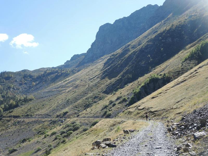 Refuge de la Glère, randonnée, sentier