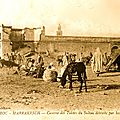 AOUT-SEPTEMBRE 1912, PRISONNIERS  MARRAKECH: UN CENTENAIRE