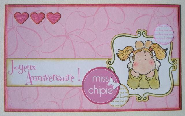 Joyeux Anniversaire Miss Chipie