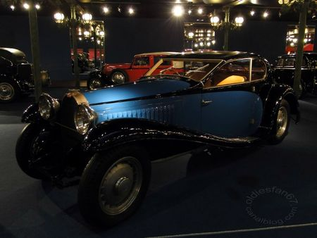 Bugatti type 46 coach 1933 Musée National de l'Automobile de Mulhouse, collection Schlumpf 2