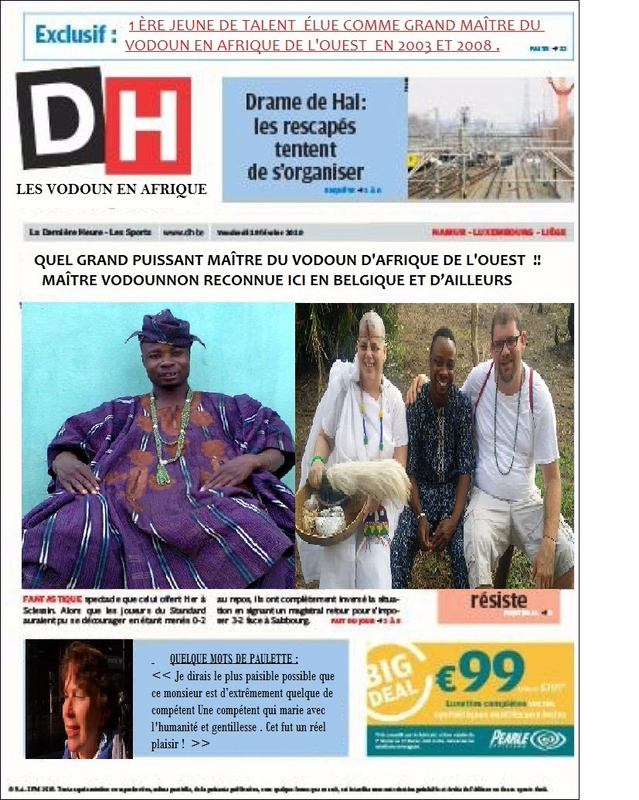 journal duy maitre vodounnon