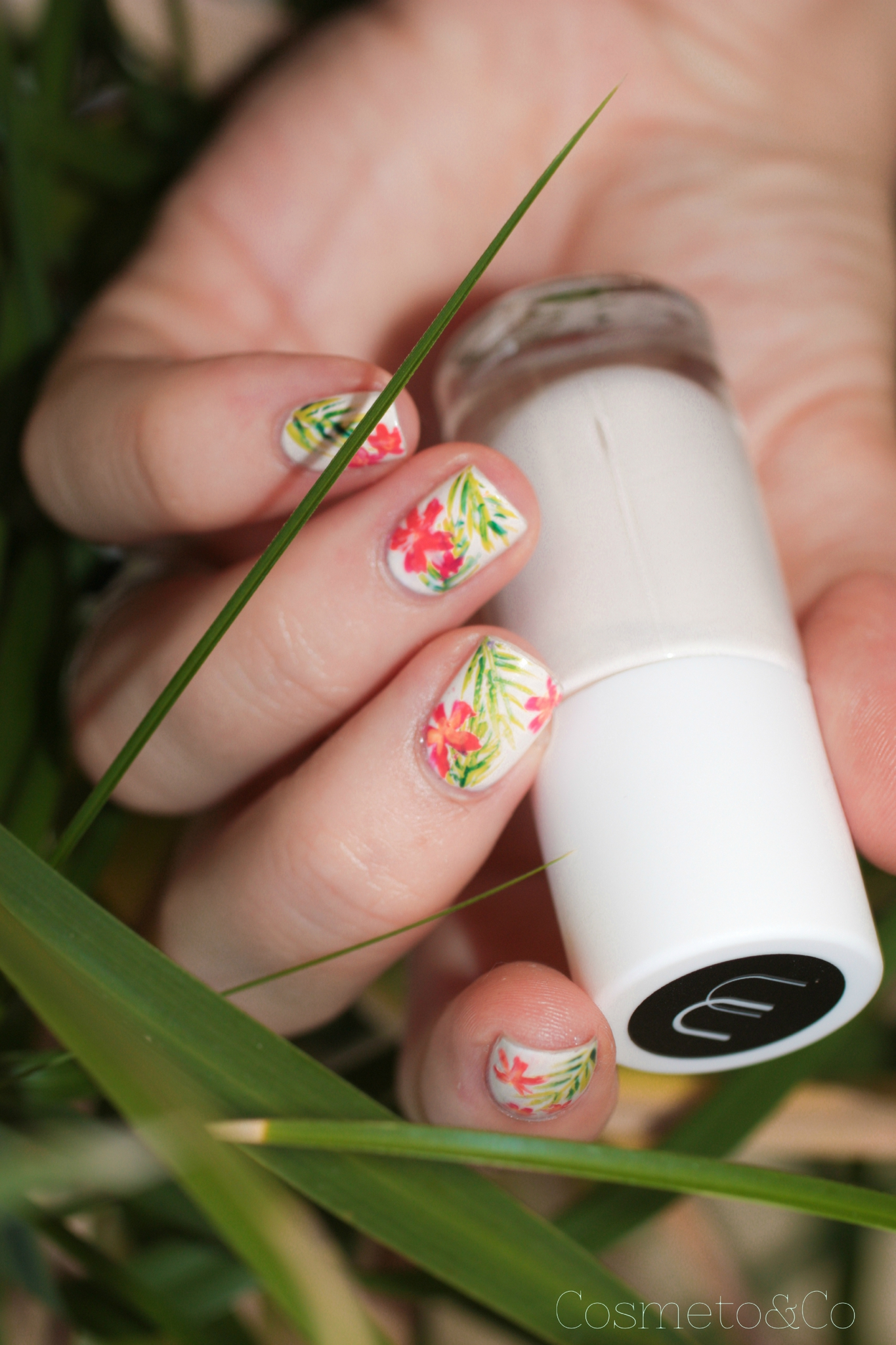 nail art tropical-11