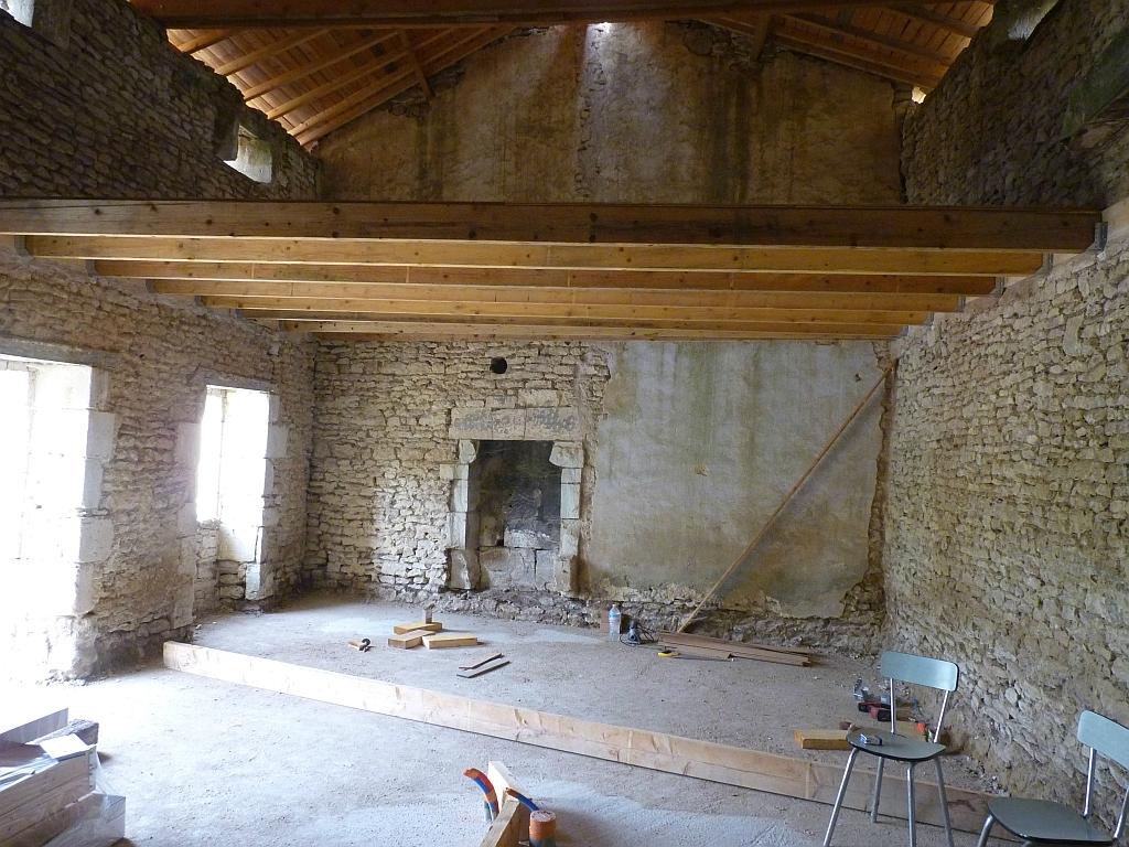 R sum des travaux effectu s depuis fin ao t renovation d 39 une ferme - Montage escalier escamotable ...