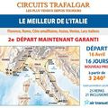 Circuits trafalgar : le meilleur de l'italie