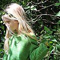 Le pull vert