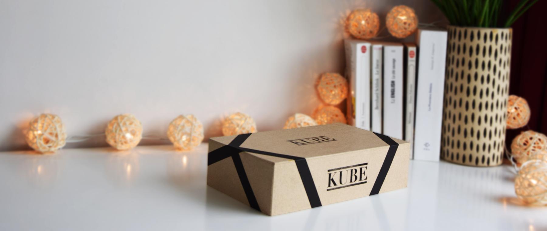 Kube : une box littéraire sur mesure pour les fous de livres