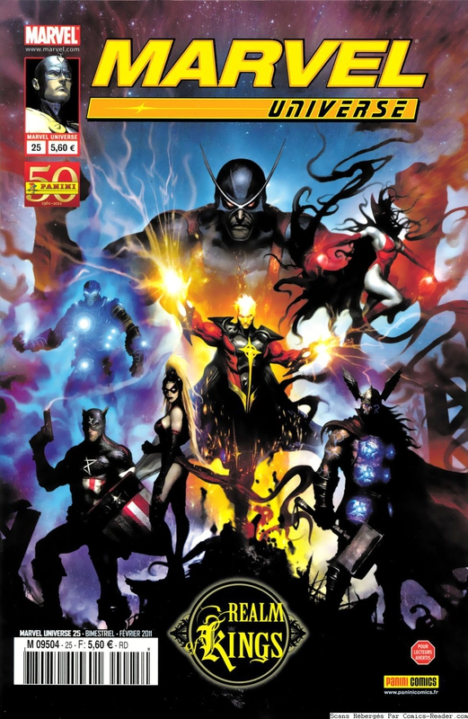 marvel universe 25 realm of kings