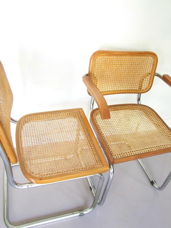 Chaises Marcel Breuer