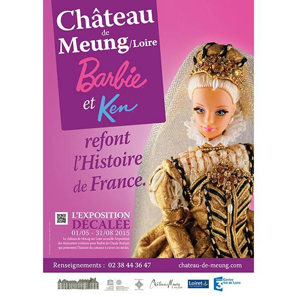 expo-barbie-et-ken-refont-l-histoire-au-chateau-de-meung-