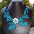Collier broderie