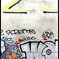 Graffiti sur mur
