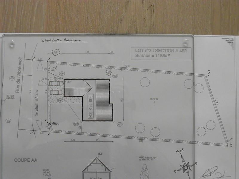 Implantation photo de plan et descriptif la for Plan implantation maison