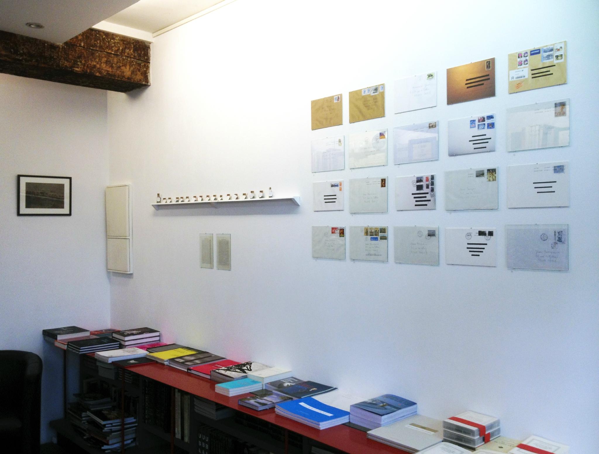 2012, Voyages…, librairie Mazarine, Paris
