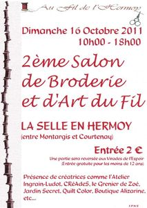 affiche salon facebook