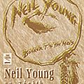 Neil young with booker & the mg's - mercredi 7 juillet 1993 - zénith (paris)