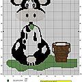 Vache et saut