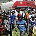 Catastrophe ferroviaire d'eseka: le mouvement de février 2008 au cameroun demande à biya de démissionner