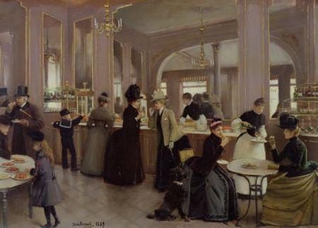 jean_beraud_La_Patisserie_Gloppe__Champs_Elysees__Paris__1889