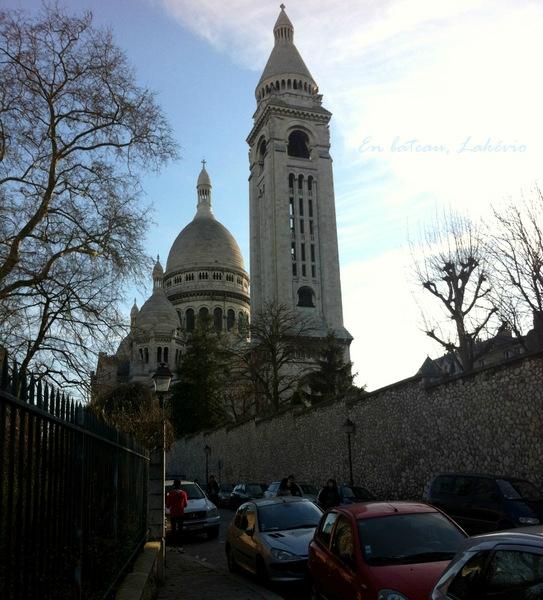 Montmartre rue de la bonne