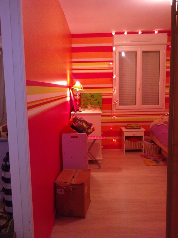 Awesome chambre orange et rose pictures antoniogarcia info