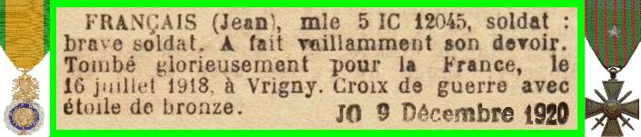 FRANCAIS Jean
