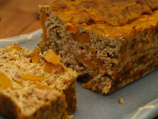 cake thon carotte