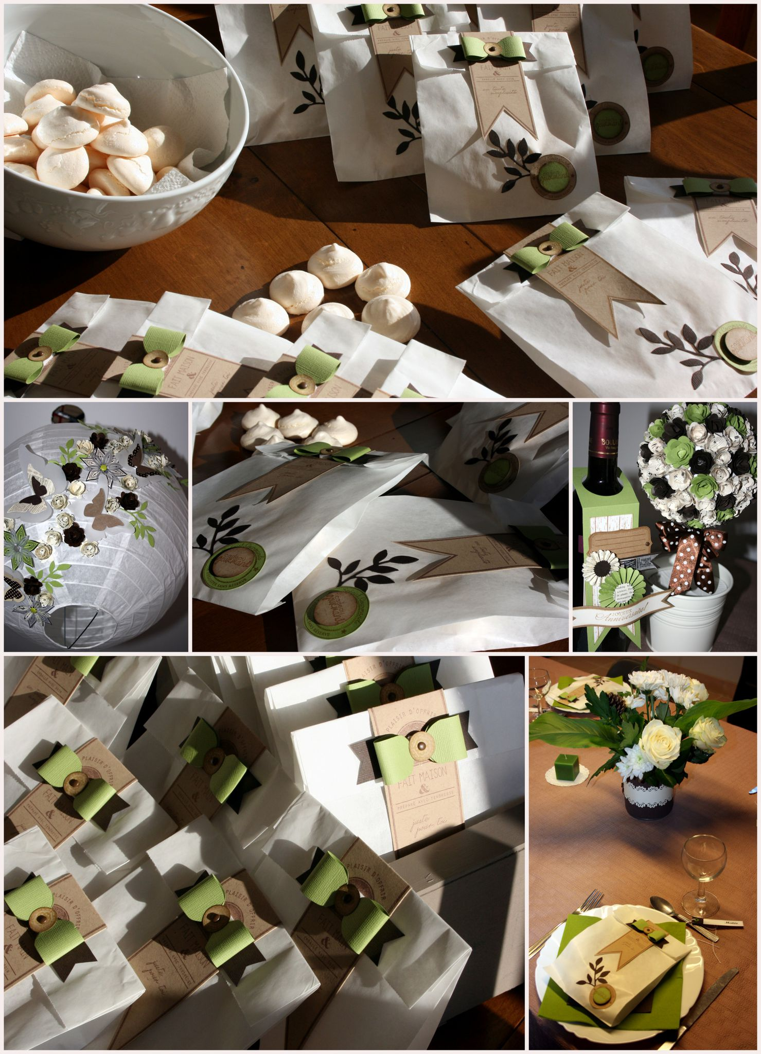 Petits plaisirs aur lie scrap - Decoration de table anniversaire 20 ans ...