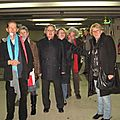 Retour meeting F. Hollande Reims