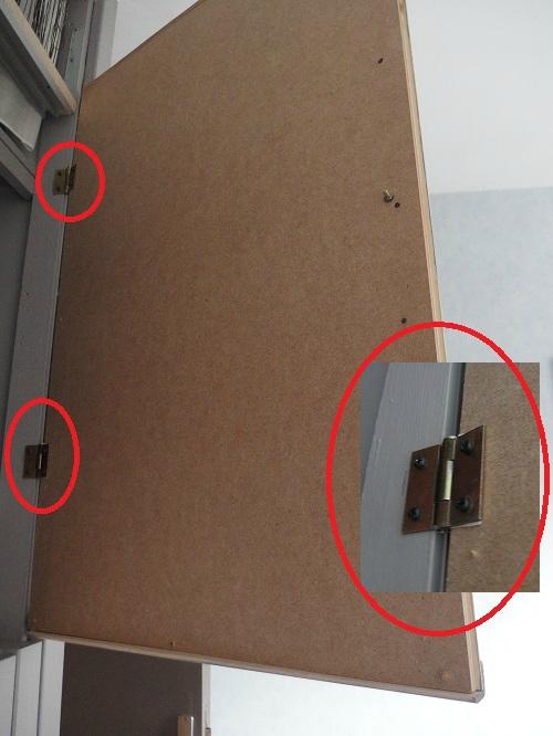 Transformation d 39 un placard sans importance for Fabriquer porte placard cuisine