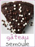 gateau semoule au chocolat ww weight watchers - index