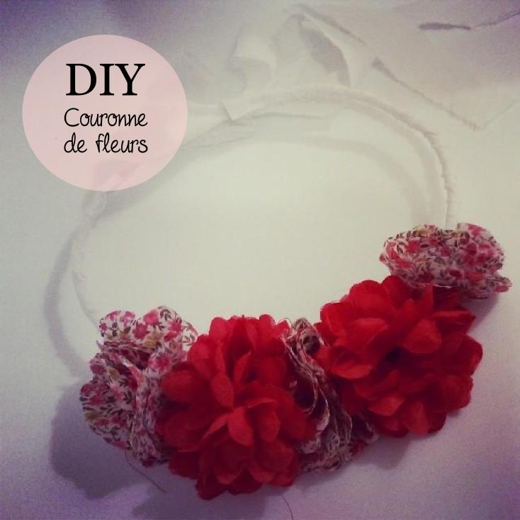Diy couronne de fleurs en tissu pitimana le blog - Diy couronne de fleurs ...