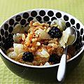 Au petit-déj' ou en dessert, c'est risotto orange (+ concours)