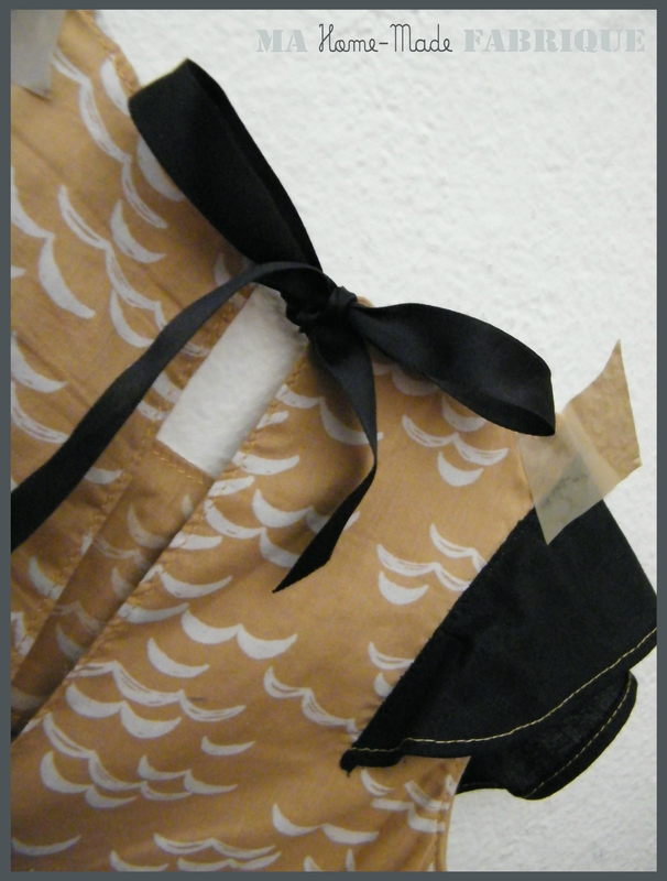 robe trapèze à volant3