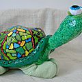 tortue en papier maché-cote01