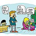 Noël, jouets, travailleurs détachés et chine
