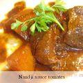Nandji sauce tomates (recette ivoirienne)