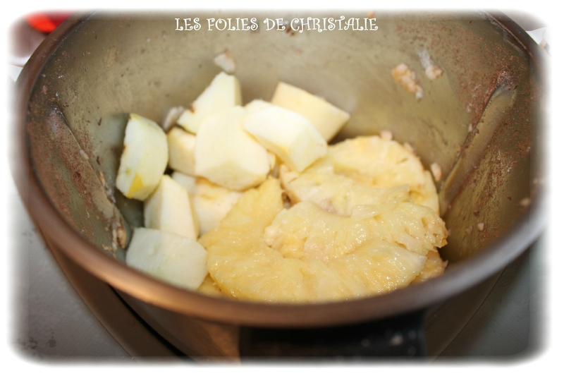 Compote pommes ananas 1