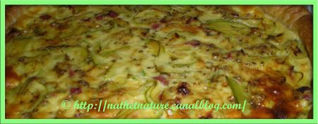 Tarte courgette-bacon 2