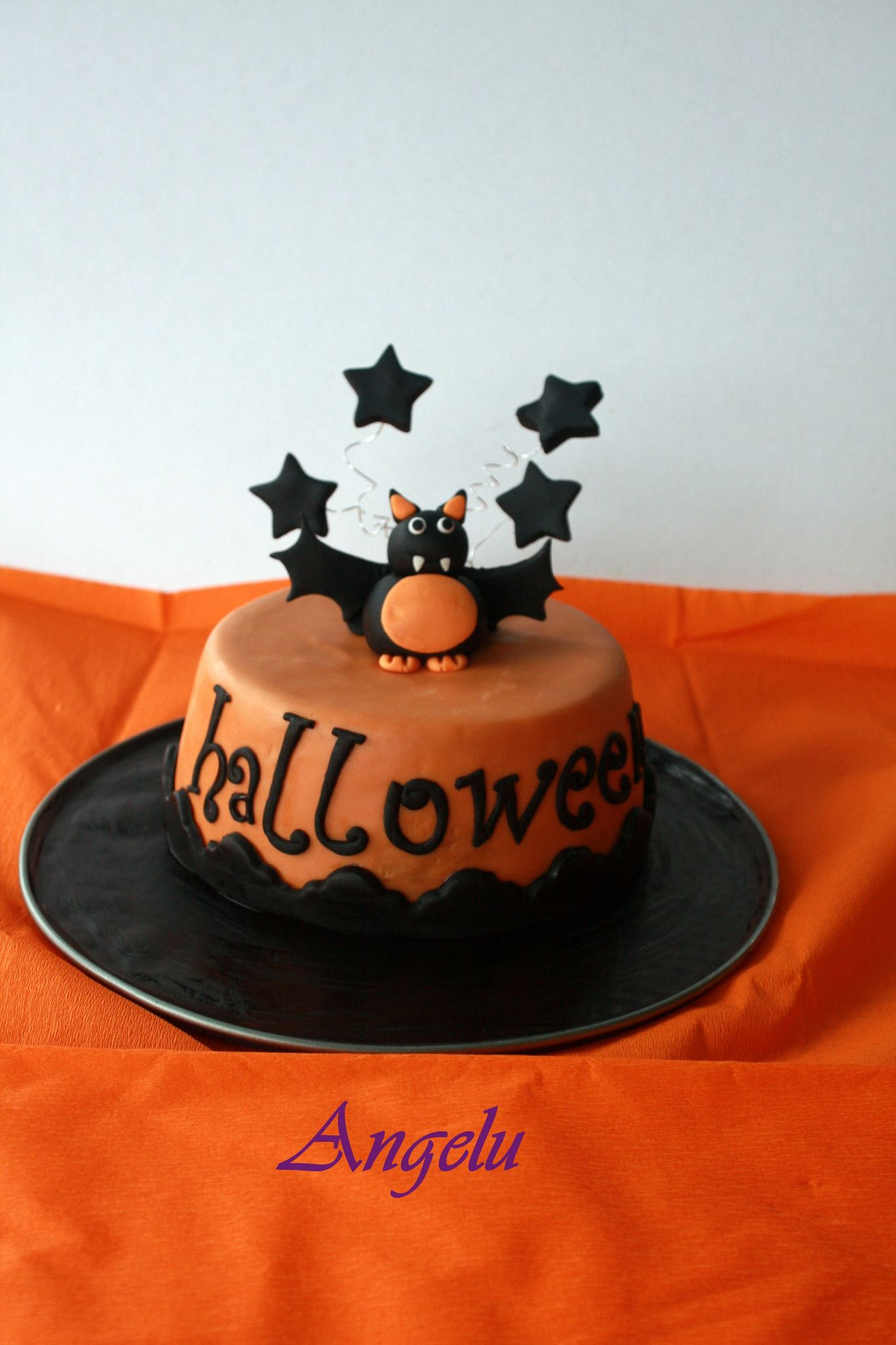 G teau 3d halloween 2012 ma petite patisserie contact for Idee deco gateau halloween
