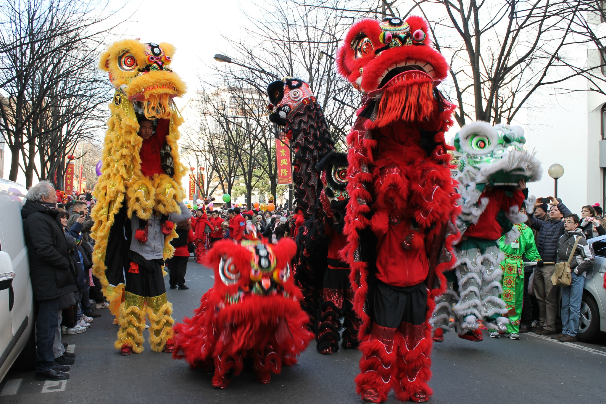costume nouvel an chinois